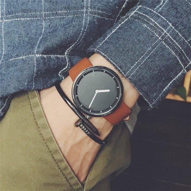 Minimalist Stylish Quartz Watches for Man