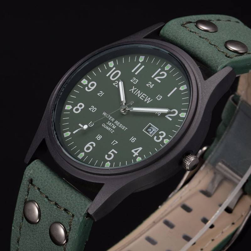Classic Men's Waterproof Watches