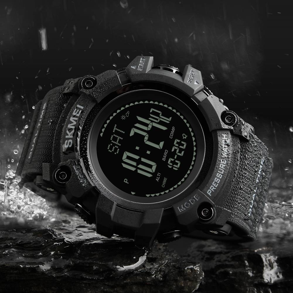 Sturdy Digital Sports Watches for Men