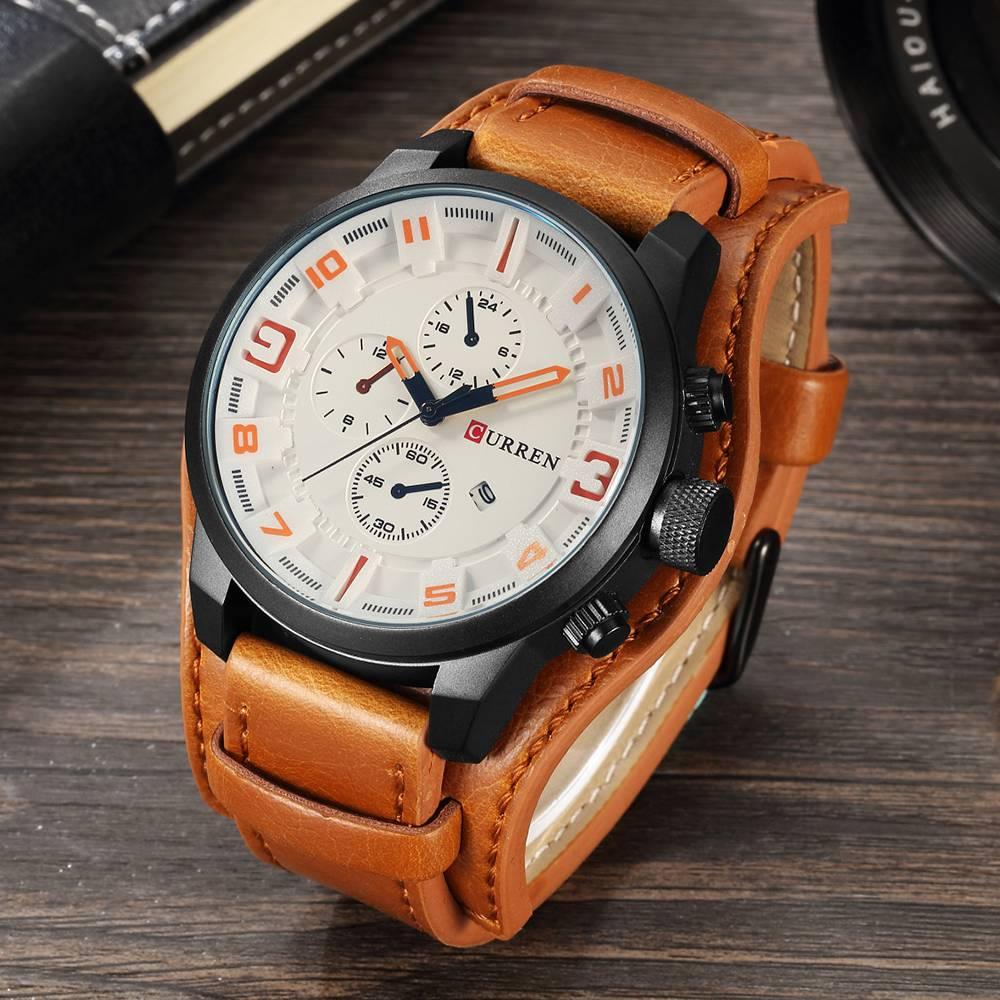 Men's Casual Quartz Watch
