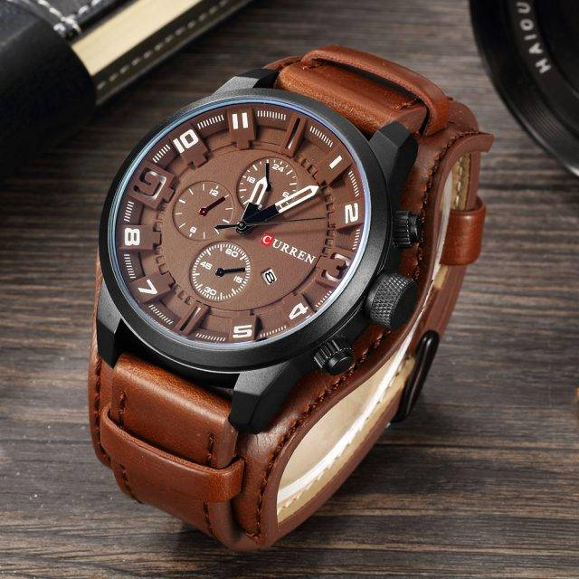 Men's Casual Quartz Watch