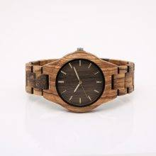 Casual Wooden Quartz Watches for Men