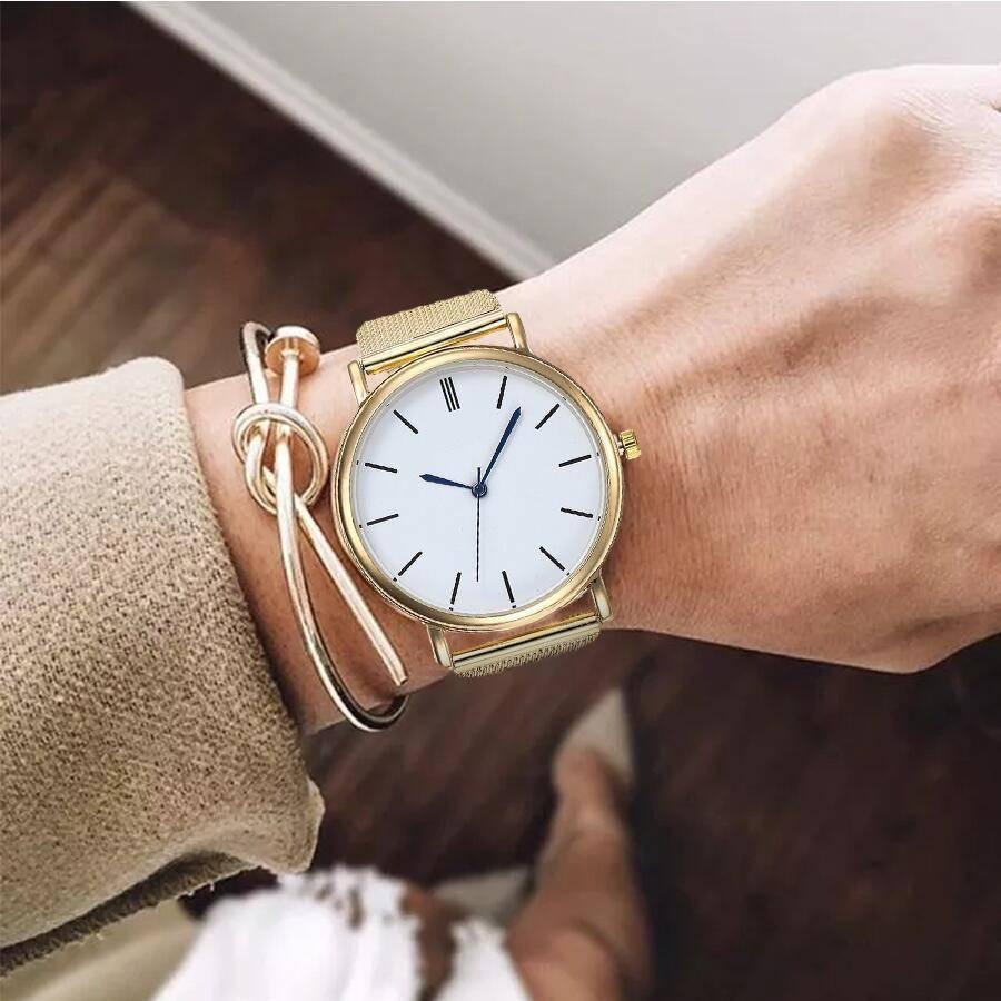 Fashion Stainless Steel Quartz Watches