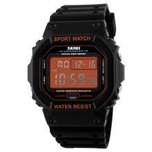 Military LED Digital Watch Color: Orange