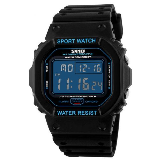 Military LED Digital Watch Color: Blue
