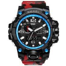 Camouflage Watches for Men Color: Red