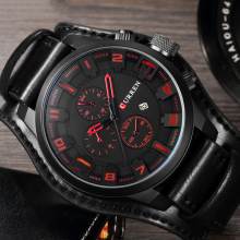 Waterproof Military Styled Quartz Wristwatches for Men