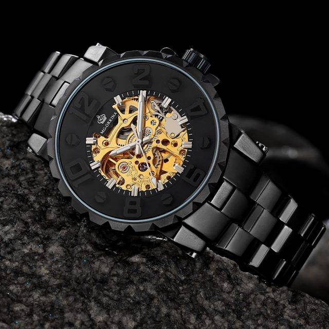 Men's Auto Mechanical Wristwatch