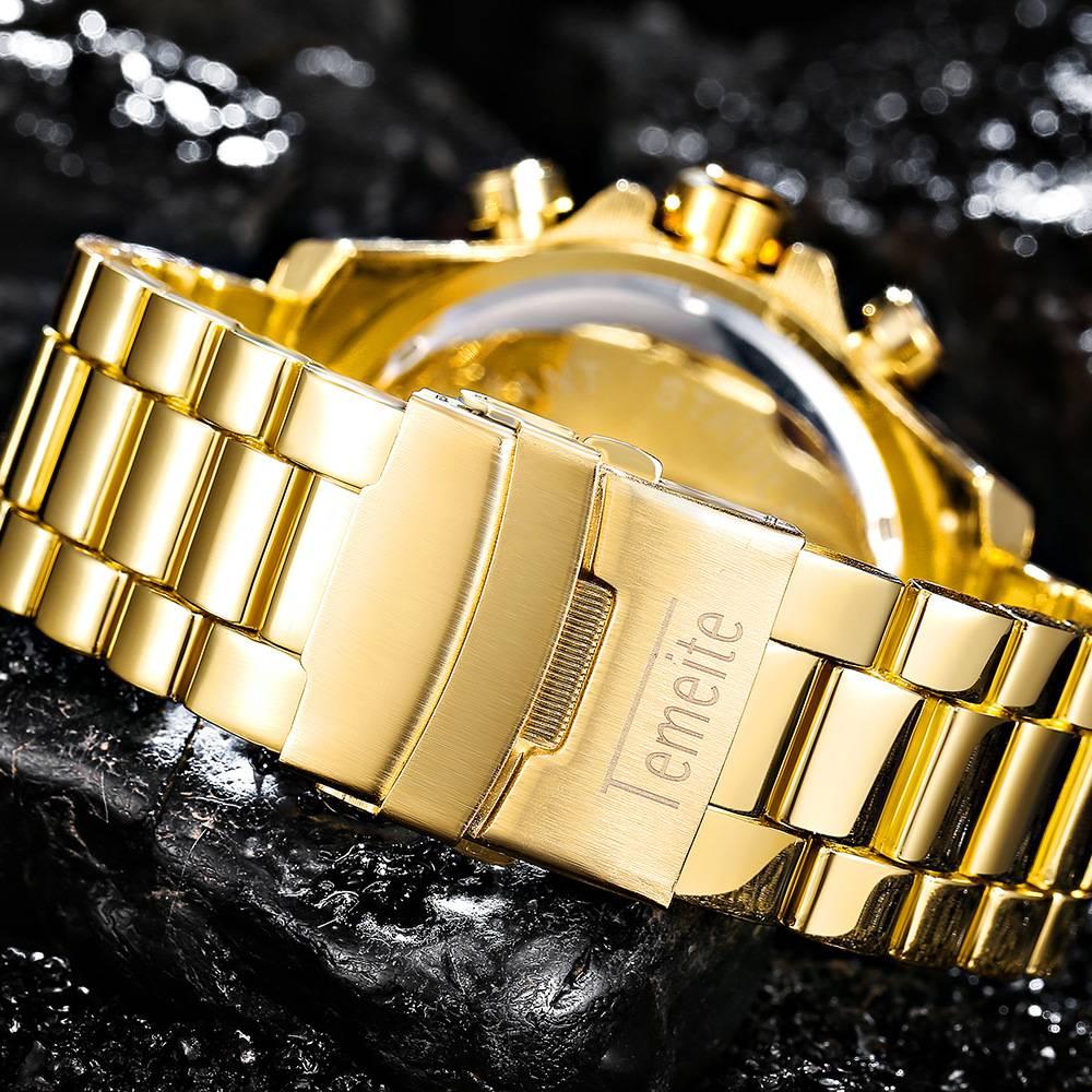 Men's Luxury Waterproof Big Dial Watches