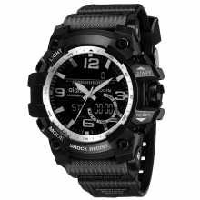 Sports Wristwatches for Men with Digital and Analogue Display