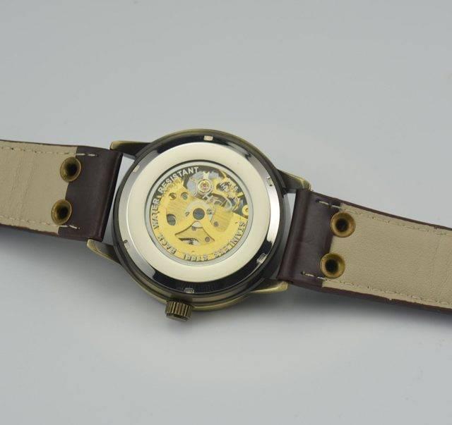 Men's Steampunk Skeleton Watch