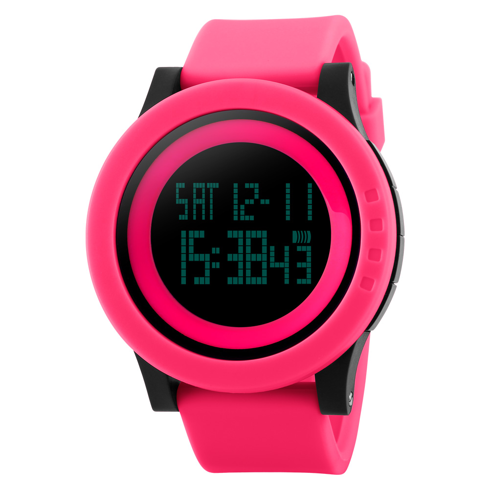 Stylish Men's Digital Waterproof Wristwatches