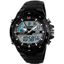 Waterproof Sports Wristwatches with Dual Display