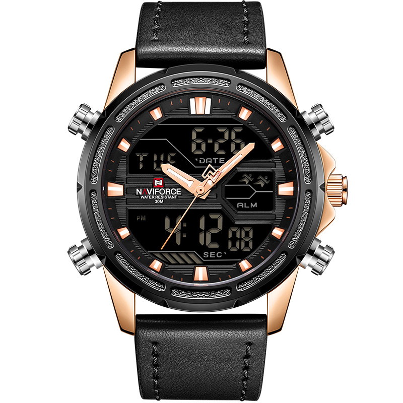 Waterproof Sports Watches with Dual Display