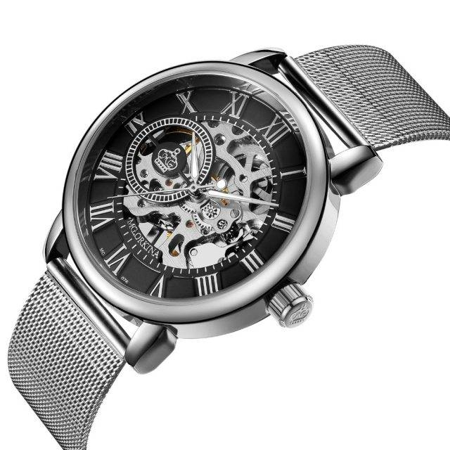 Thin Mechanical Wristwatch