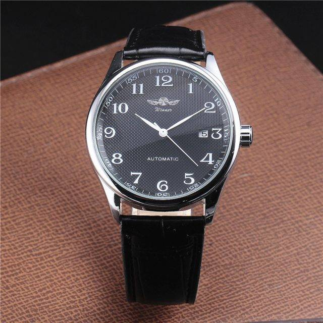 Luxury Classic Leather Automatic Watches for Men