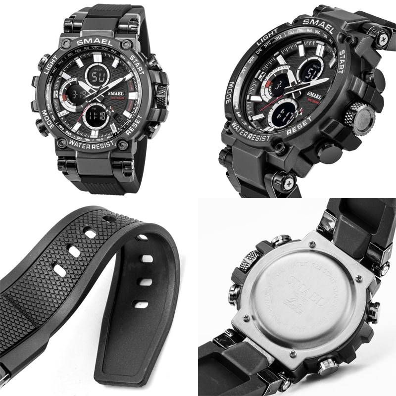 Men's Tire Design Strap Sport Watches