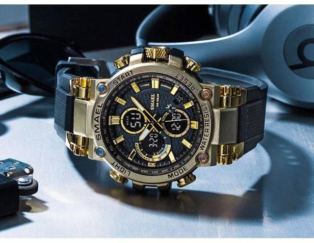 Men's Tire Design Strap Sport Watches
