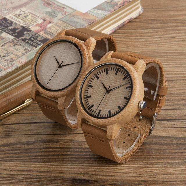 Cool Bamboo Wood Watch
