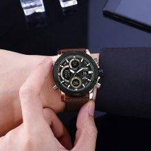 Men's Durable Nylon Strap Sport Watches