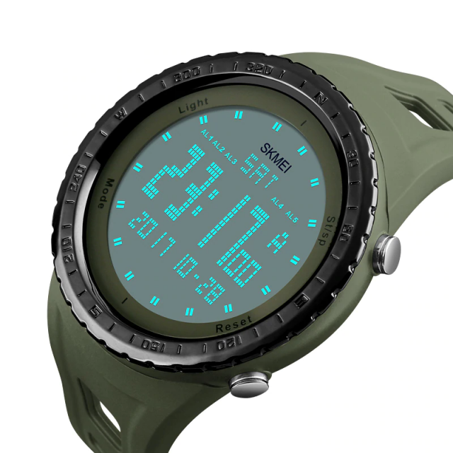 Waterproof Digital Wristwatches for Men