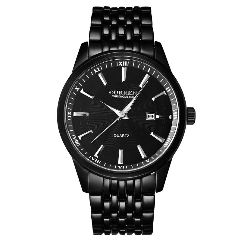 Business Stainless Steel Quartz Watches for Men