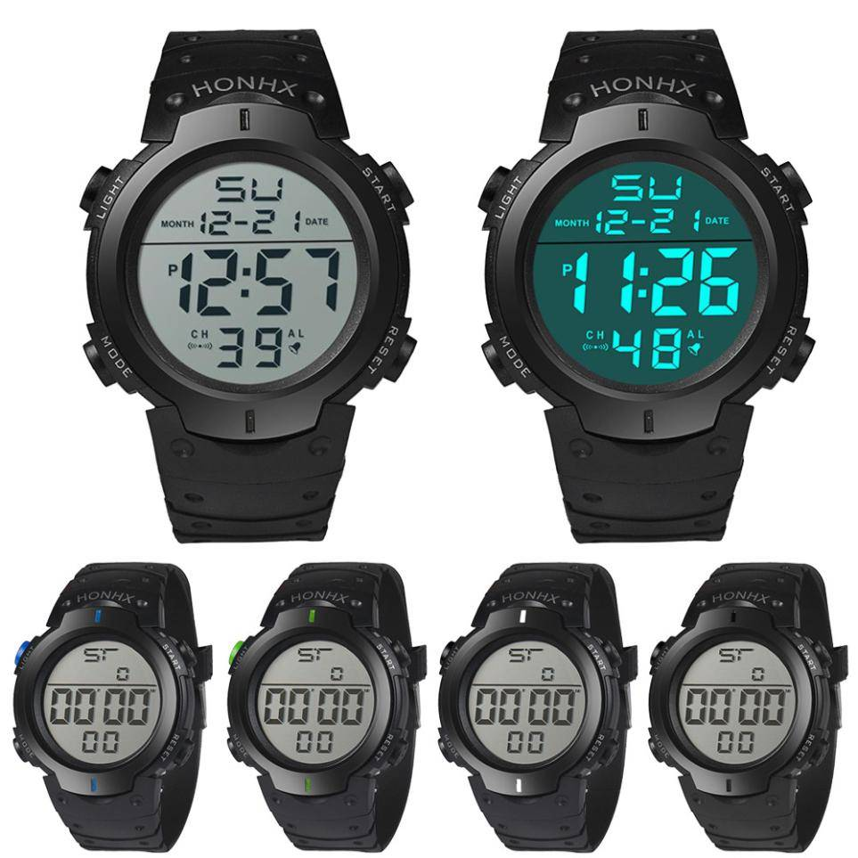 Men's Waterproof Smart Wristwatch