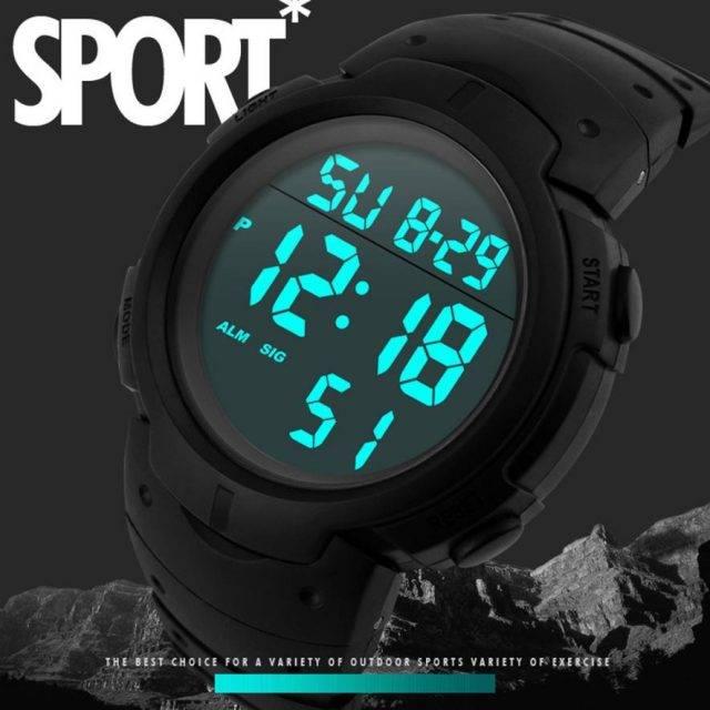 Men's Waterproof Smart Wristwatch