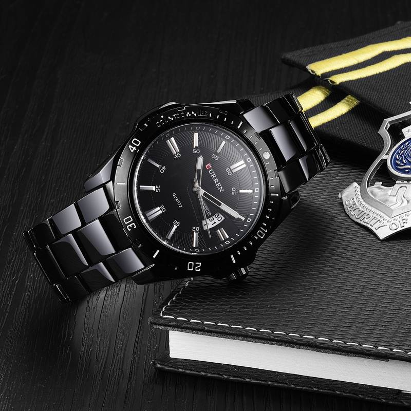 Fashion Casual Quartz Men's Wristwatch