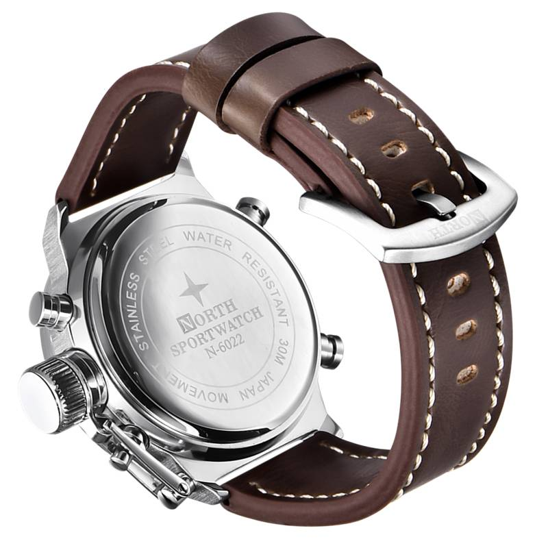 Men's Watches with LCD Display