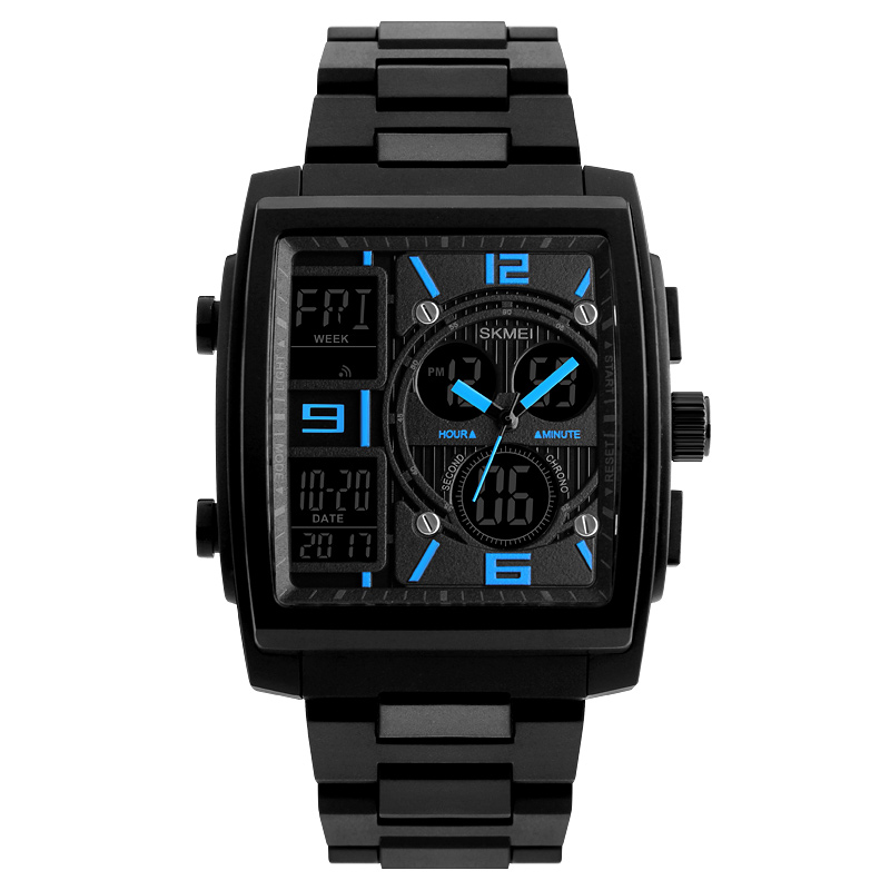 Electronic Dual Display Watches for Men