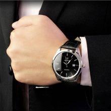 Business Calendar Quartz Watches for Man