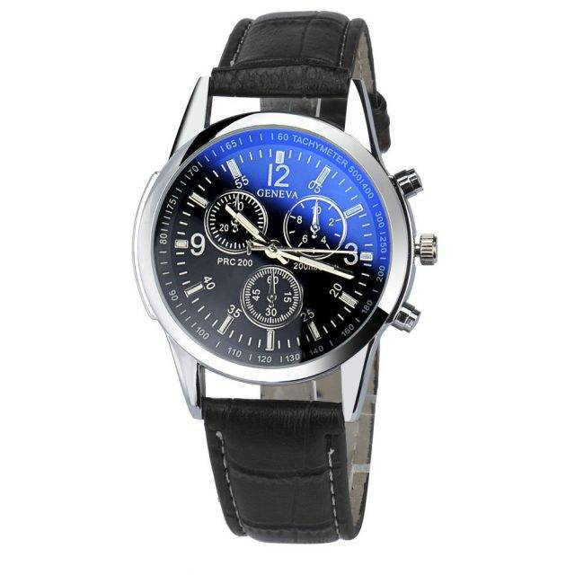 Fashionable Leather Men's Watch