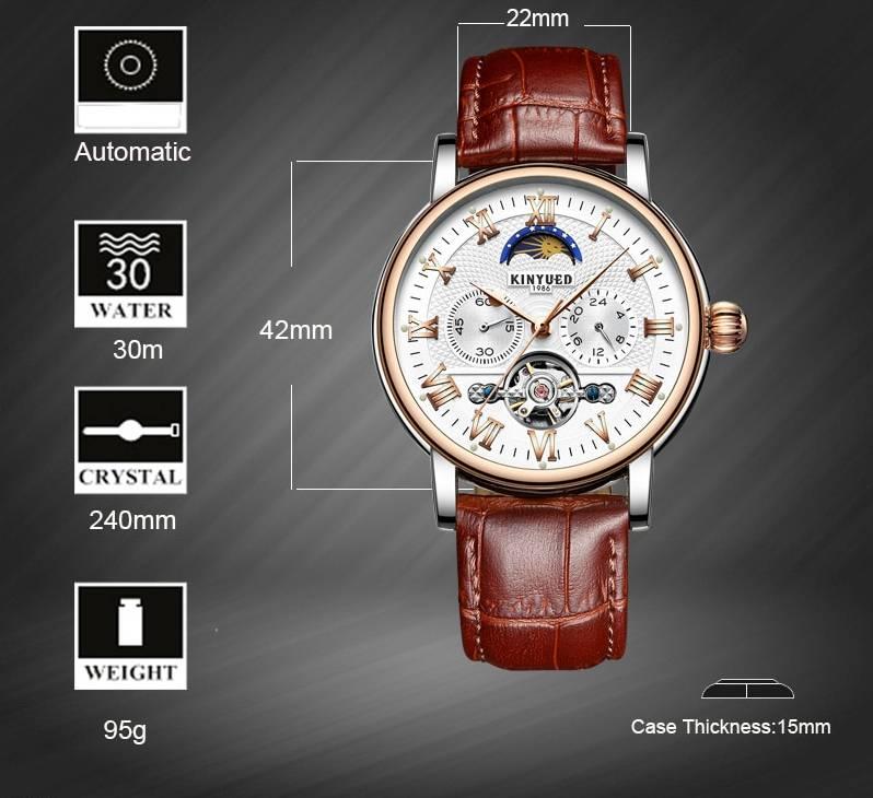 Men's Luxury Leather Watches