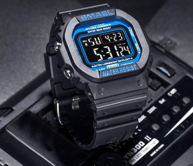Men's Laconic Style Digital Sport Watches