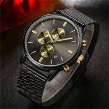 Men's Mesh Metal Watches