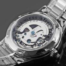 Men's Luxury Automatic Full Stainless Steel Watches