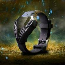 Men's Stylish Digital Wristwatch with Rubber Band