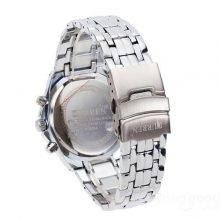 Stylish Casual Stainless Steel Men's Wristwatch