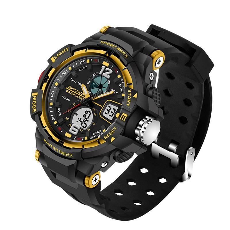 Elegant Sport Dual Display Watches for Men