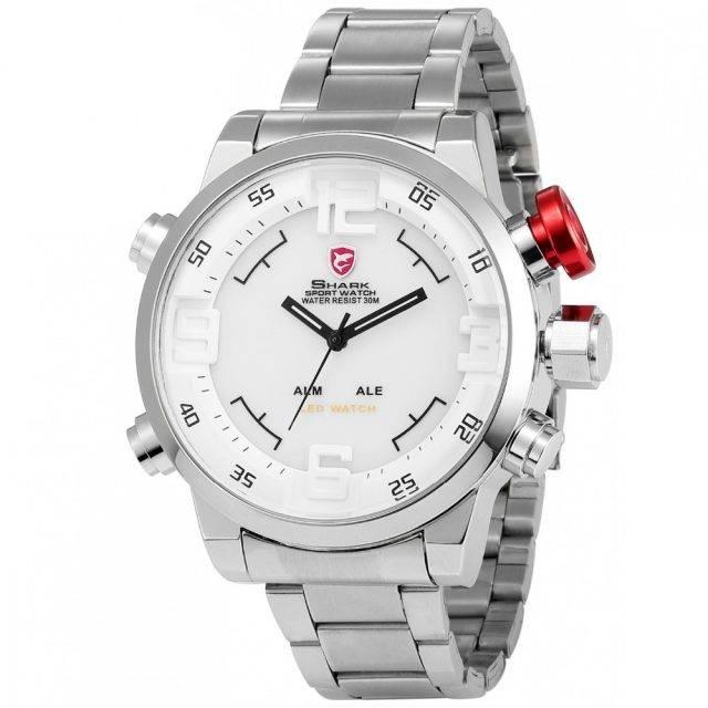 Silver Sport Men's Quartz Watch