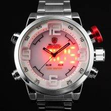 Silver Sport Men's Quartz Watch