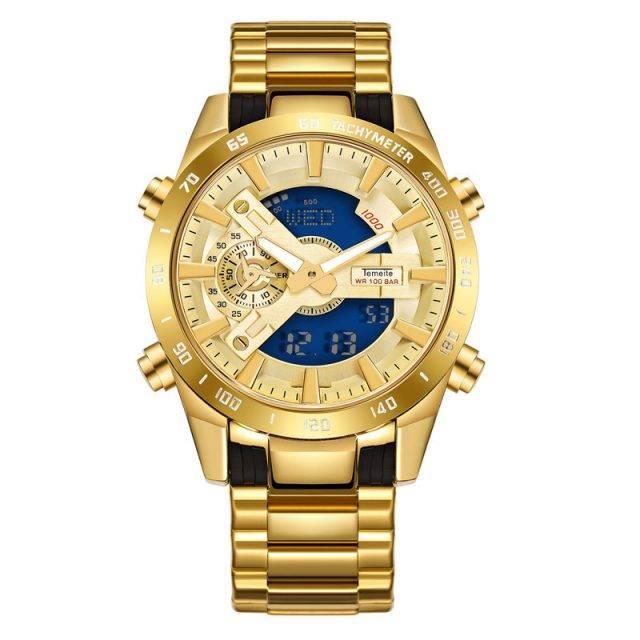 Men's Waterproof LED Dual Display Watches Color: 3