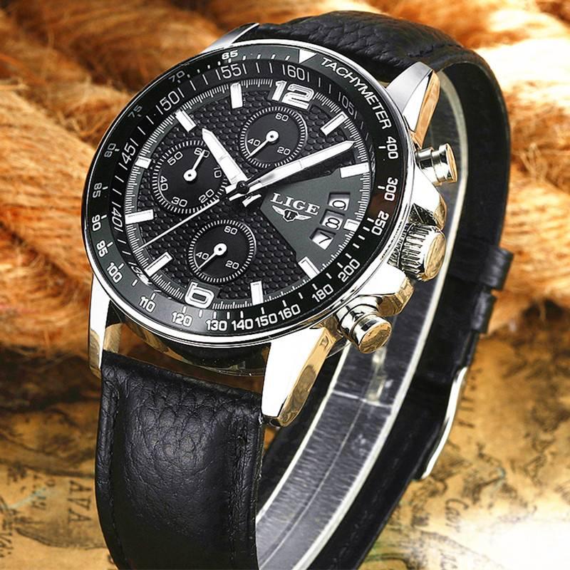 Fashion Sports Waterproof Quartz Men's Watch