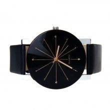 Men's Quartz Glass Dual Watch