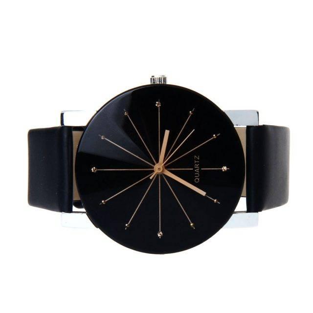 Men's Quartz Glass Dual Watch