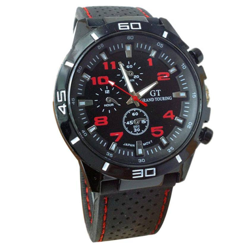 Men's Silicone Sports Watch