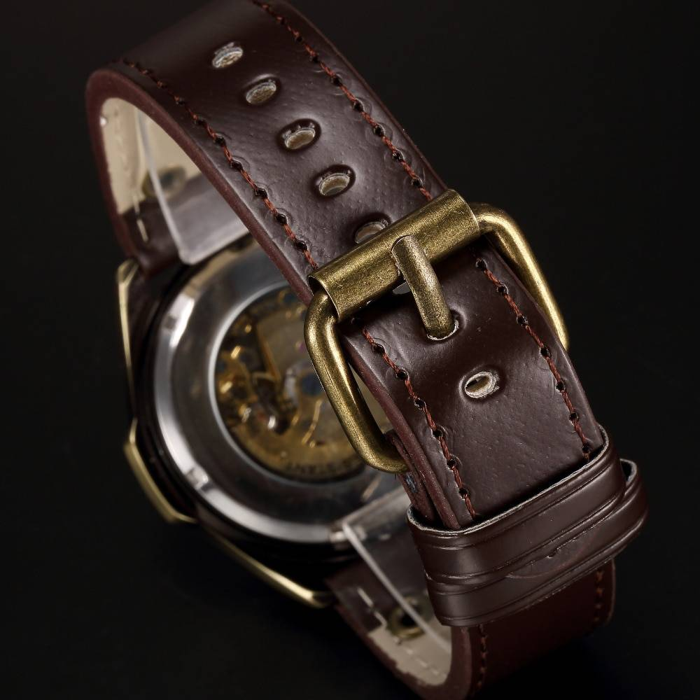 Men's Vintage Auto Mechanical Watch