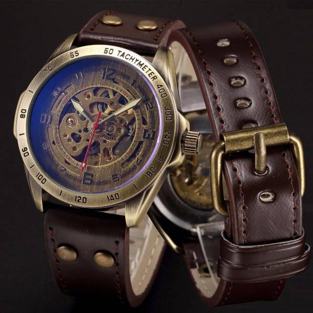 Men's Vintage Auto Mechanical Watch