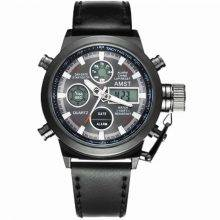 Military Dual Display Watches for Men